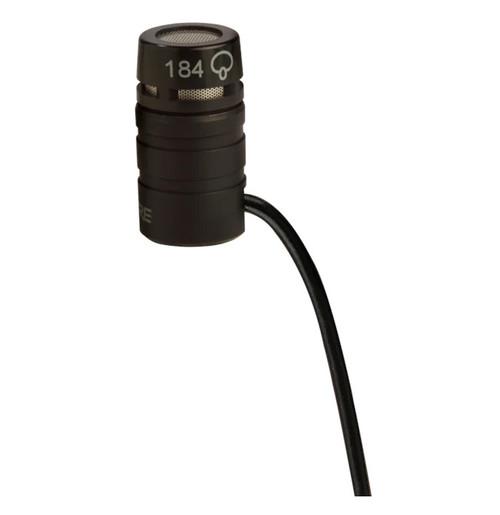 Shure WL184 Supercardioid TQG Lavalier Microphone