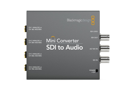 Blackmagic Design Mini Converter SDI to Audio front