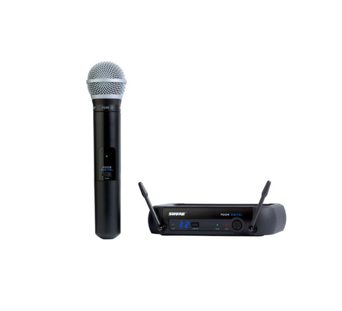 Shure PGXD24/PG58 Handheld Wireless System and Wireless Handheld Microphone