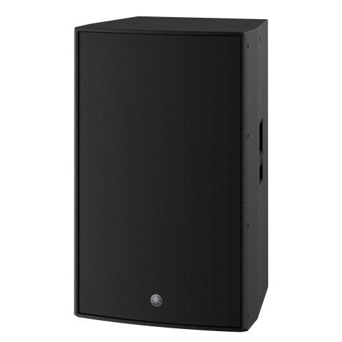 "Yamaha DZR315-D 15"" 3-Way Powered Dante Speaker, Black"