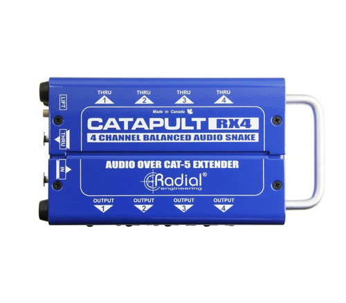 Radial Catapult RX4 4 Channel Balanced Audio Snake