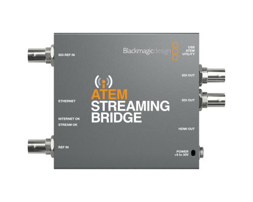 Blackmagic Design ATEM Streaming Bridge top
