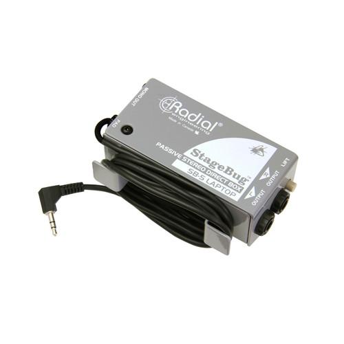 Radial StageBug SB-5 Compact Stereo Laptop Direct Box