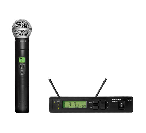 Shure ULXS24/58 (G3) Handheld Wireless System