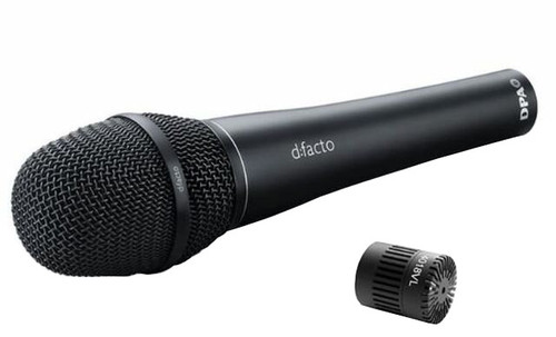 DPA d:facto 4018VL Linear Supercardioid Mic, Wired DPA Handle