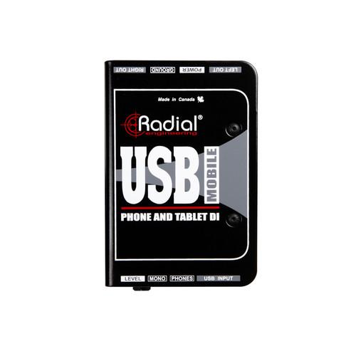 Radial USB-Mobile Tablet & Smartphone Direct Box