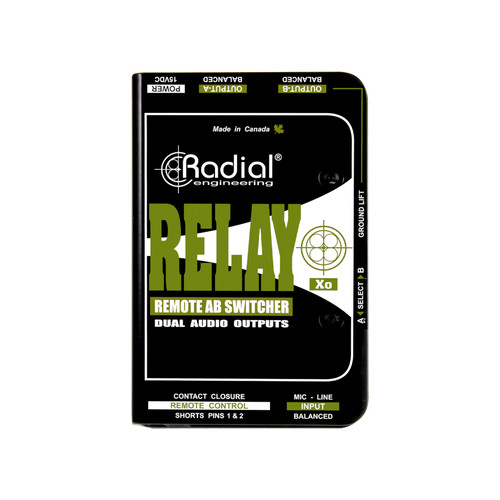 Radial Relay Xo Active Output Switcher