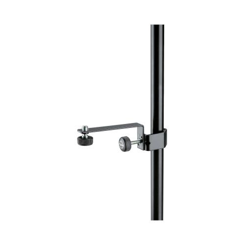 K&M 238 Microphone Holder - Black