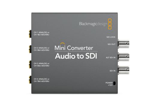 Blackmagic Design Mini Converter Audio to SDI front
