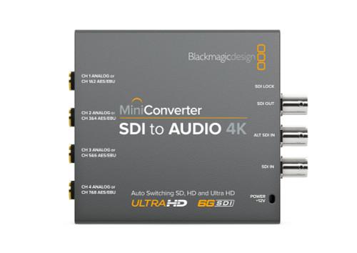 Blackmagic Design Mini Converter SDI to Audio 4K front