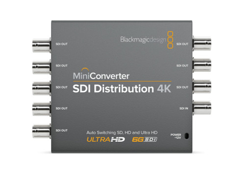 Blackmagic Design Mini Converter SDI Distribution 4K front