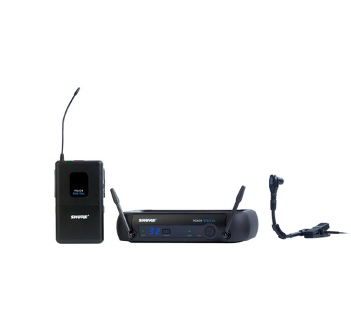 Shure PGXD14/BETA98H Wireless Instrument Microphone System