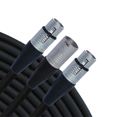 RapcoHorizon Y Cable (1') - NYM-F