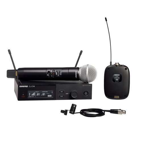 Shure SLXD124/85 Combo Wireless Microphone System