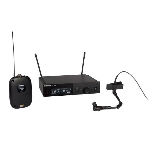 Shure SLXD14/98H Wireless Instrument Microphone System