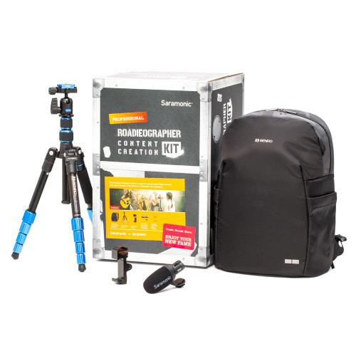 Saramonic Roadieographer Pro Content Creation Kit