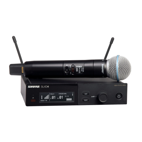 Shure SLXD24/B58 Wireless Handheld Microphone System