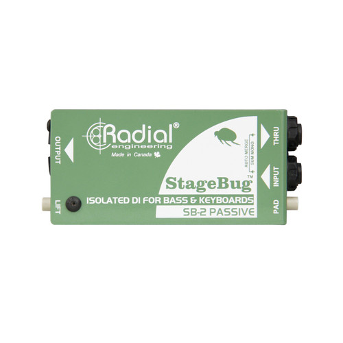 Radial StageBox SB-2 Compact Passive Direct Box