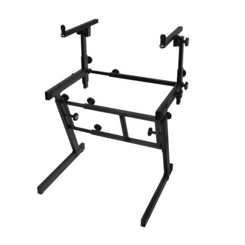On-Stage KS7365EJ Folding-Z Keyboard Stand with 2nd Tier