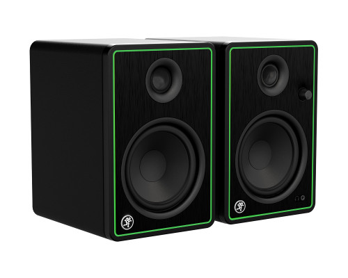 """Mackie CR5-XBT Pair of 5"""" Reference Multimedia Monitors with Bluetooth Front Side"""