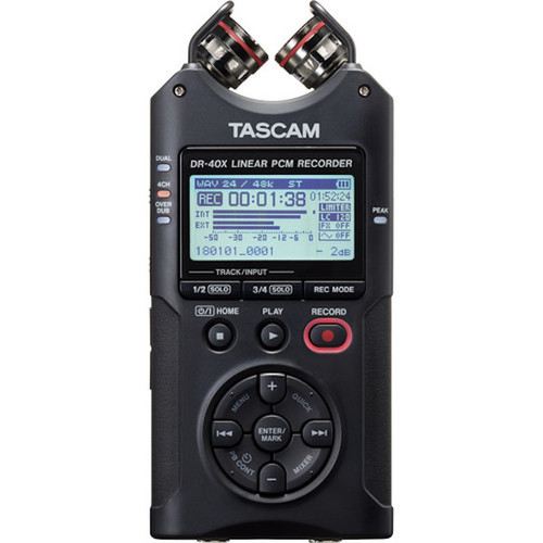 Tascam DR-40X Four Track Audio Recorder XY