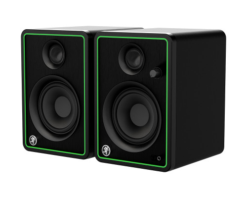 """Mackie CR4-X Pair of 4"""" Reference Multimedia Monitors Front Side"""