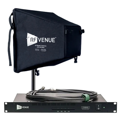 RF Venue COMB4CPB Signal Combiner with CP Beam Antenna B