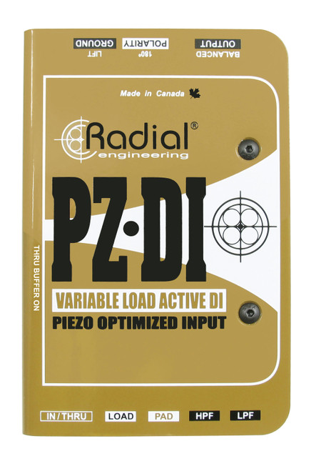 Radial PZ-DI Orchestral Instrument Direct Box Top