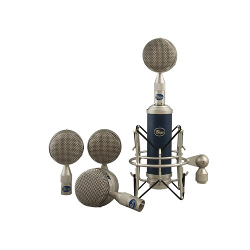 Blue Microphones Bottle Rocket Mic Locker Mic and Capsule Collection