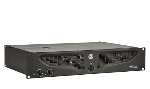 RCF IPS3700 2 X 1500 Class H Professional Power Amplifier