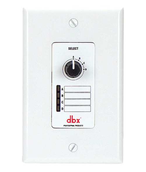 dbx ZC-3 Wall-Mounted Zone Controller