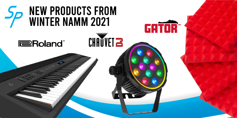 New products from winter namm 2021