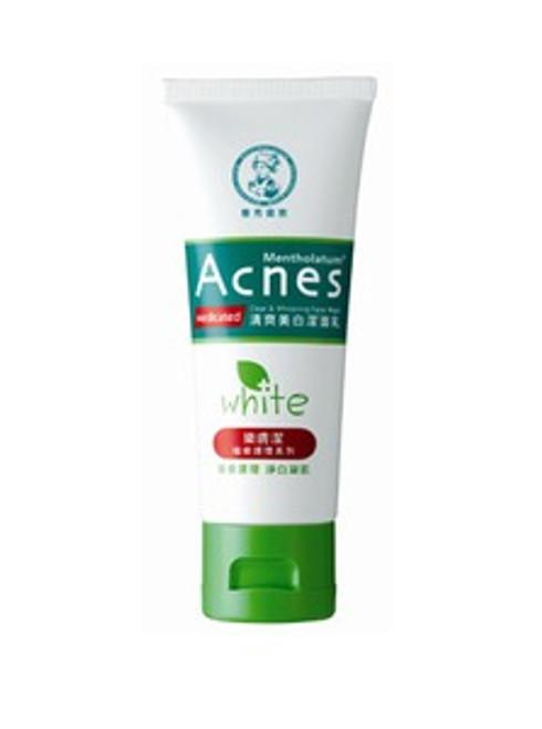 Mentholatum Acnes Clear & Whitening Face Wash (50g)