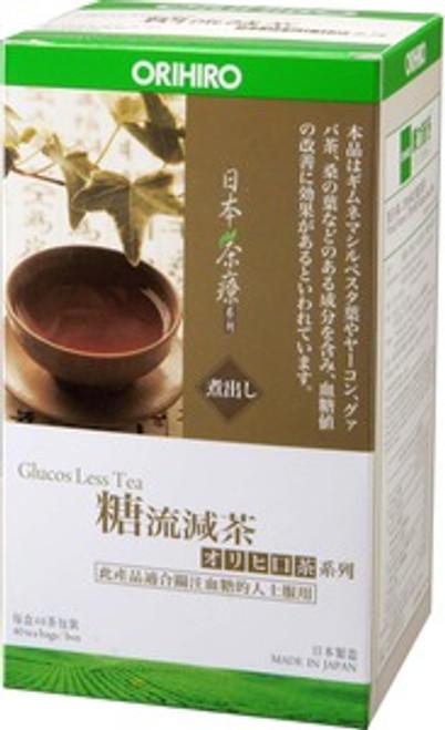 ORIHIRO Glucos Less Tea (40 Bags)