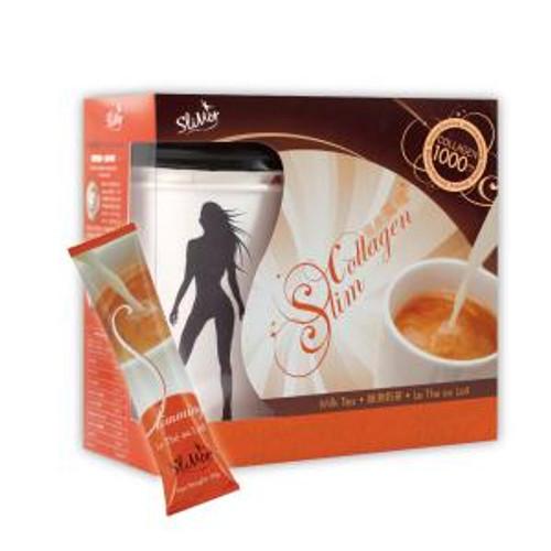 SliMor Slimming Collagen Le The au Lait - Milk Tea (7 packs)