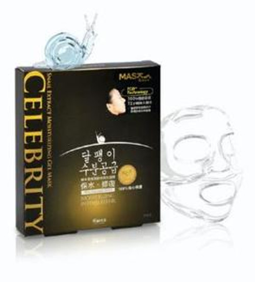 Mask House CELEBRITY Snail Extract Moisturizing Gel Mask (3 pieces)