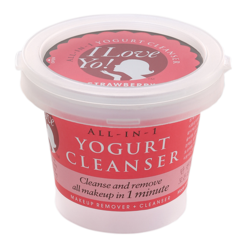 ILoveYo! All-in-1 Yogurt Cleanser Makeup Remover + Cleanser (Strawberry)