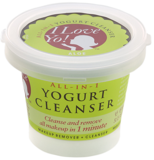 ILoveYo! All-in-1 Yogurt Cleanser Makeup Remover + Cleanser (Aloe)