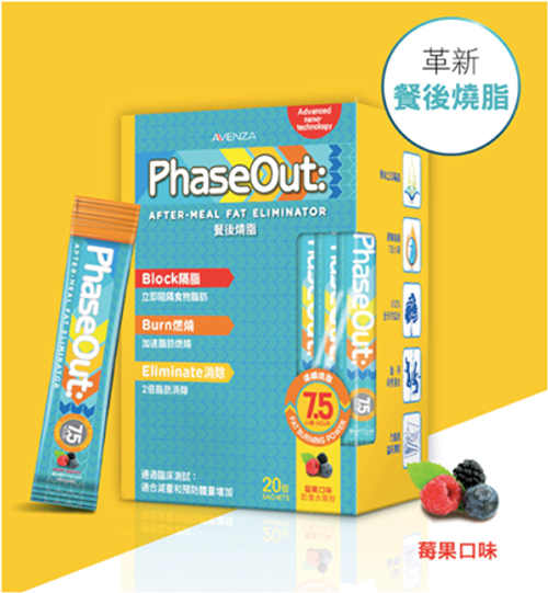 PhaseOut 餐後燒脂 After Meal Fat Eliminator (20 packs)