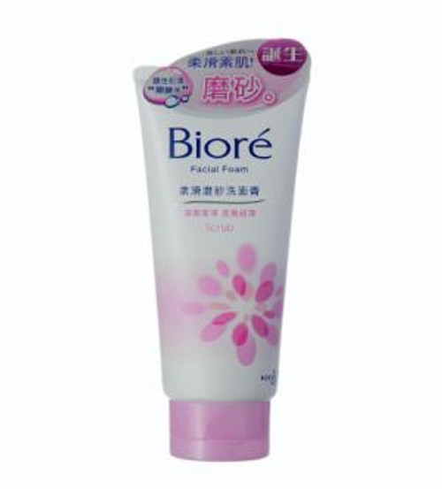 Biore Facial Foam Scrub (100ml)