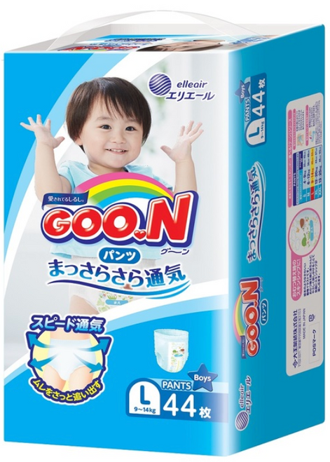 Goo.N Pants Large Boy 44pcs