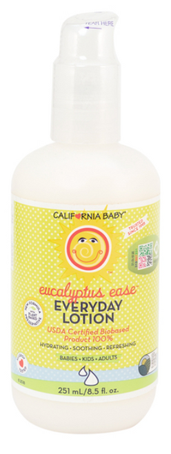 California Baby Eucalyptus Everyday Lotion 251mL