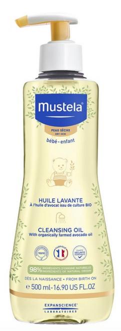 Mustela Dry Skin Cleansing Oil 500mL