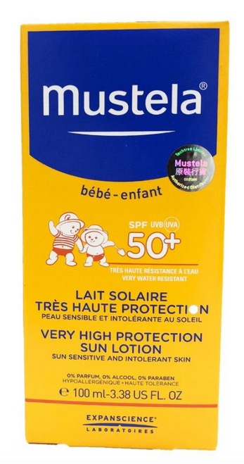 Zoom Mustela Very High Sun Protection Sun Lotion 100mL