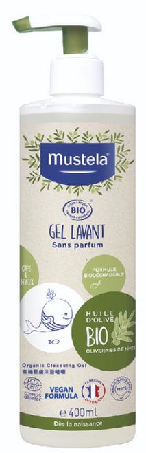 Mustela Organic Cleansing Gel 400ml