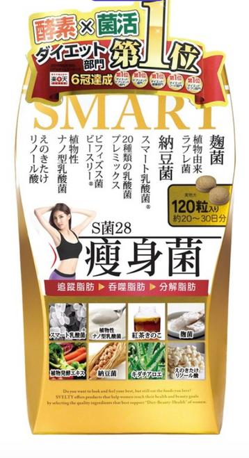 Svelty Smart Bacteria 28 (120pcs)