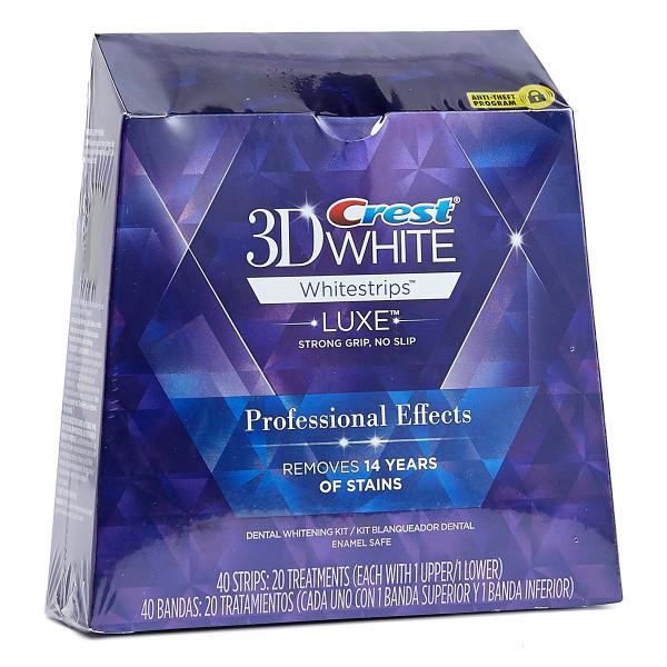 Oral-B Crest 3D White Strips Prof Effect