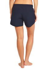 Evie Longer Length Training Short - Dark Sapphire