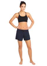 Evie Longer Length Training Short - Dark Sapphire