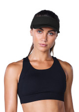 Work It Out Visor - Black
